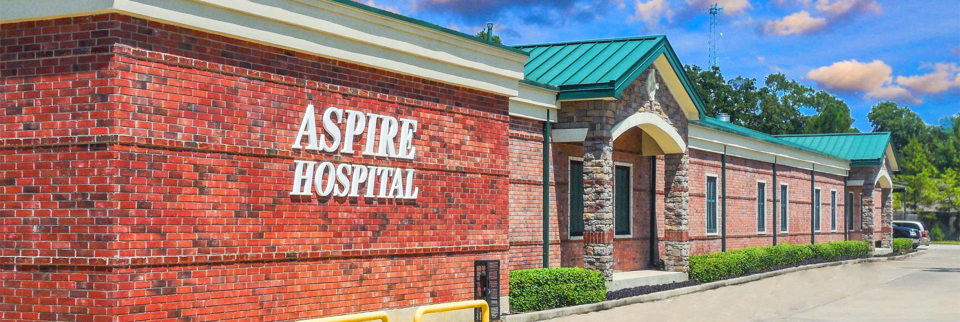 Welcome To Aspire Hospital In Conroe Texas